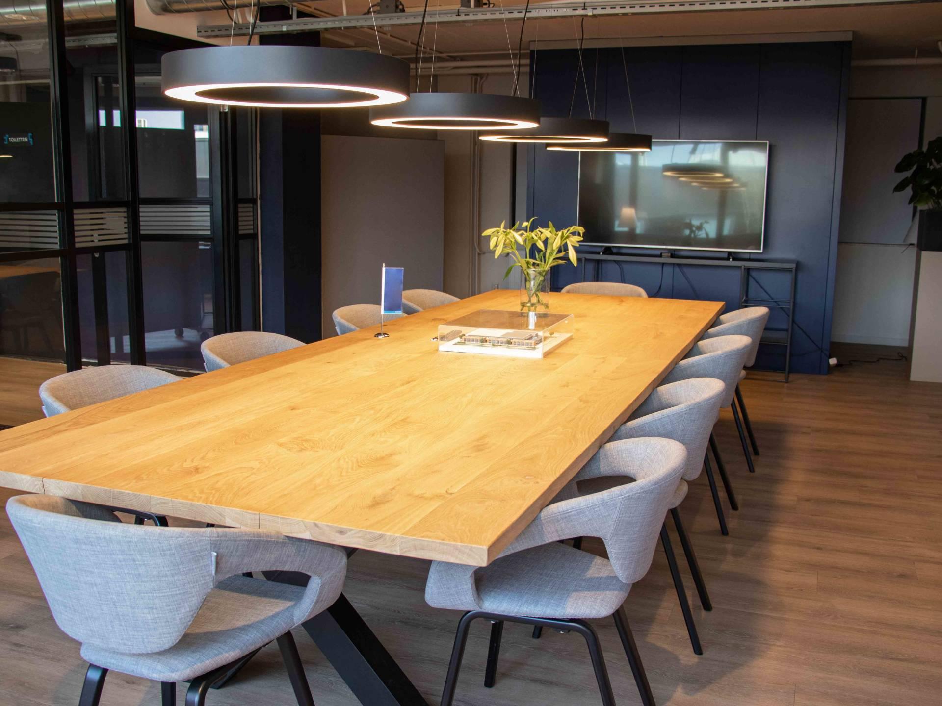 Een flexibele kantoorinrichting bij Boxx Sloterdijk