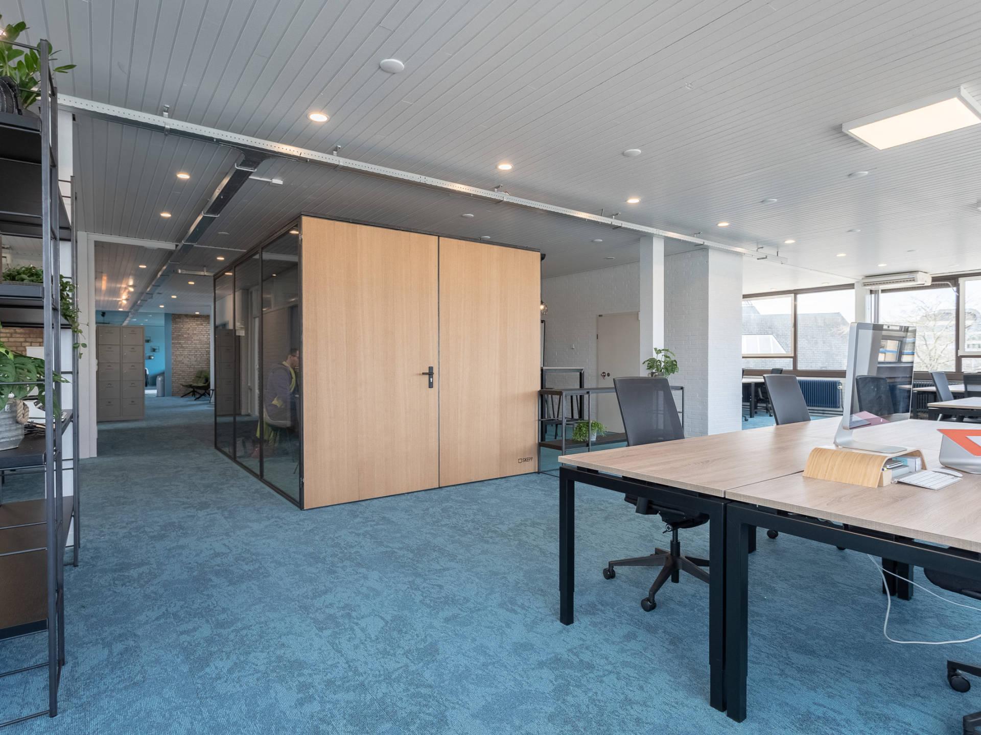 Een multifunctionele meetingbox bij City Hub