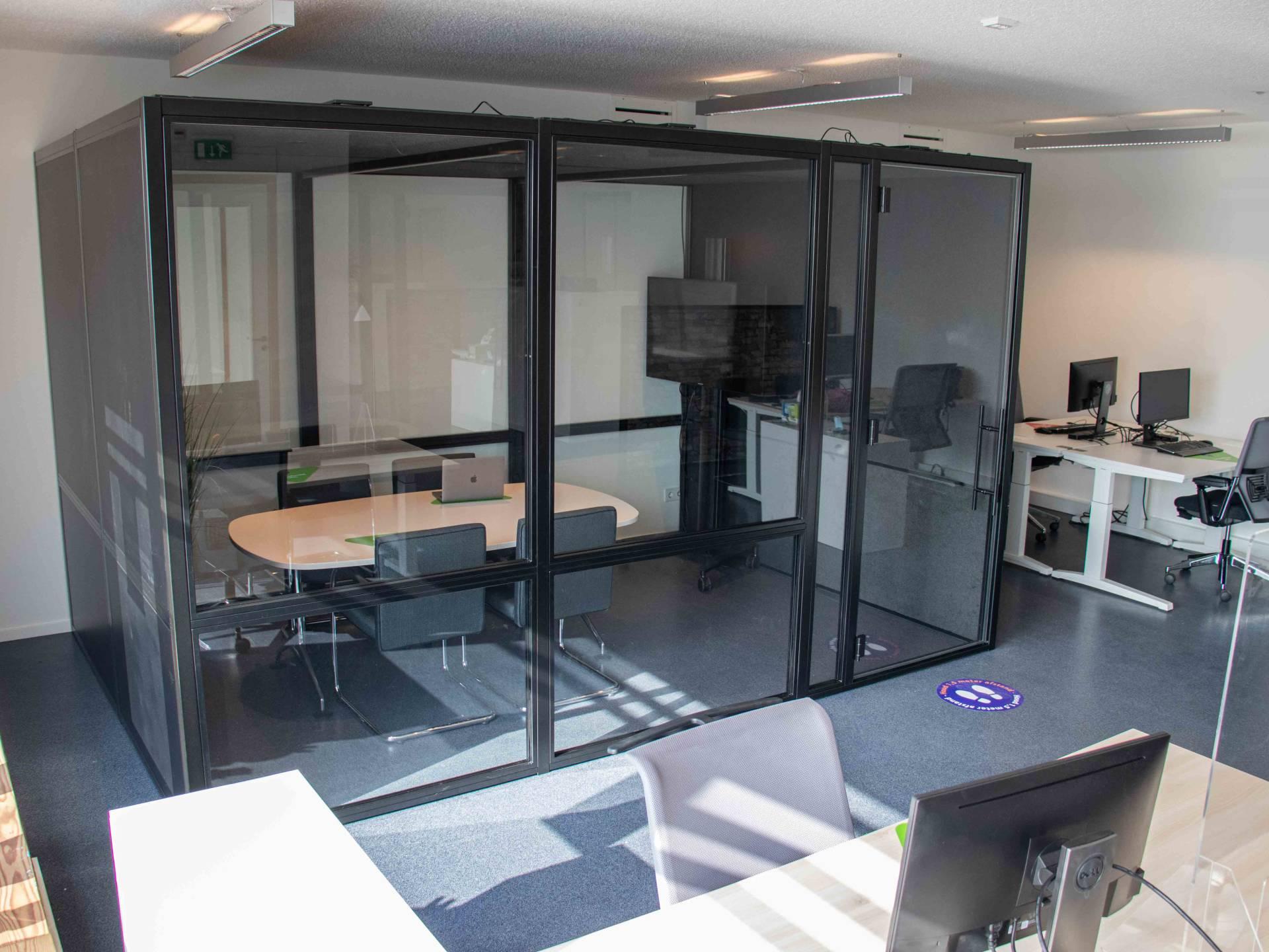 Een multifunctionele meetingbox voor Rabobank Badhoevedorp