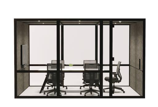 Meetingbox Amsterdam L zwart