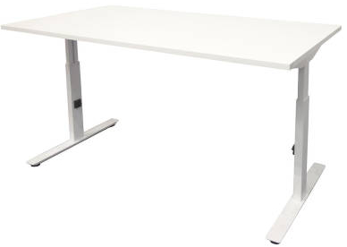 Desk Boden (Chalk white, White, 80, 160)