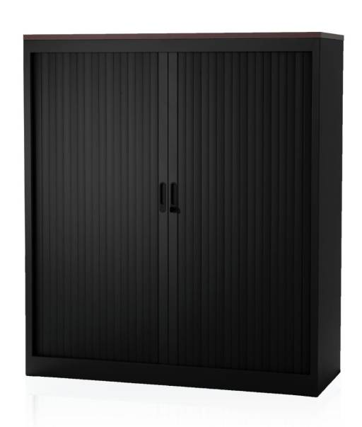 Filing cabinet Heidelberg 135 cm high - top blade dark oak